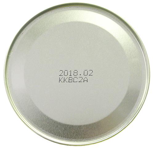 缶製品の製造番号